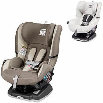 Peg Perego Primo Viaggio Infant Convertible Car Seat w Clima Cover, White (Panama)