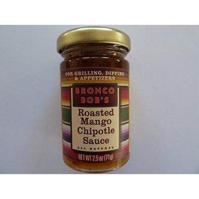 BRONCO BOB'S - Chipotle Sauces (All Natural)- 2.5 Oz (Roasted Mango Chipotle Sauce)