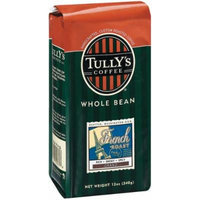 Tully's Coffee French Roast, Whole Bean , 12 Ounce Bags (Pack of 3)