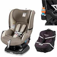 Peg Perego Primo Viaggio Infant Convertible Car Seat w Car Seat Travel Bag & Cup Holder (Panama)