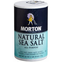 Morton All Purpose Sea Salt, 26-Ounce (Pack of 12)