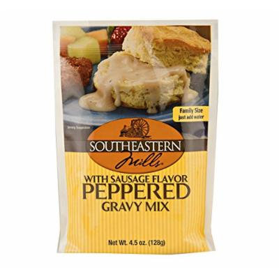 Southeastern Mills Old Fashioned Peppered Gravy Mix w/ Sausage Flavor, 4.5 Oz. Package (Pack of 4)