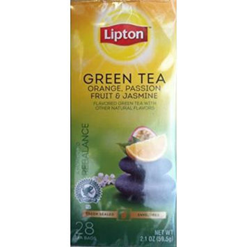 Lipton®  Orange Jasmine Passionfruit Green Tea