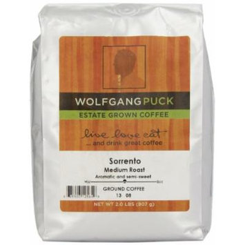 Wolfgang Puck Coffee Sorrento Ground Bulk Coffee, 2-Pounds