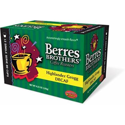 Berres Brothers Highlander Grogg Decaf Coffee Single Serve Cups