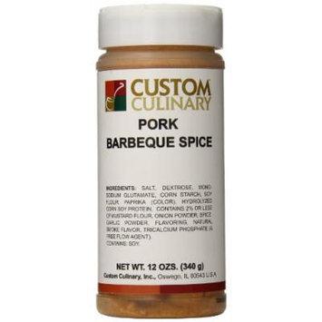Custom Culinary Pork Barbeque Spice, 12 Ounce
