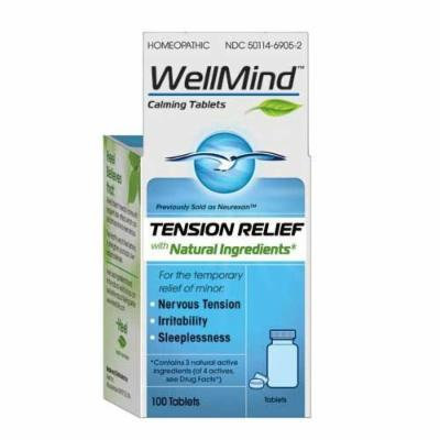 Heel WellMind Tension Relief Calming Tablets 100 ea