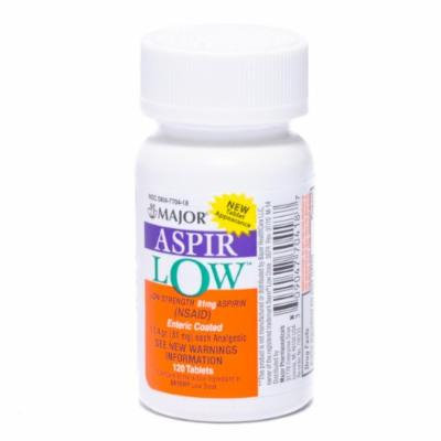 Aspirin Low Dose Enteric Coated 81 mg 120/bottle