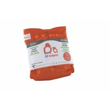Charcoal Cloth Diapers - Solids (Blood Orange)