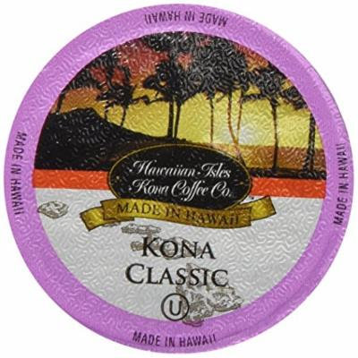 Kona Classic Kcup 80 Pack Hawaiian Isles Kona Coffee Single Serve Cups for Keurig Brewers
