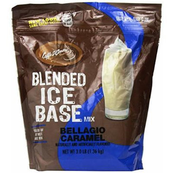 Bellagio Barista Base Blends, Caramel, 3-Pound