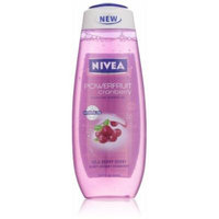 Nivea Hydrating Shower Gel, Goji Berry and Powerfruit Cranberry, 16.9 Ounce