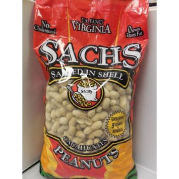 Sachs Delicious Roasted / Salted in Shell Peanuts 5lb