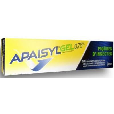 Merck Apaisyl Insect Bite Relief Gel 0.75% 30 Gr