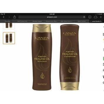 L'anza Keratin Healing Oil Shampoo and Conditioner