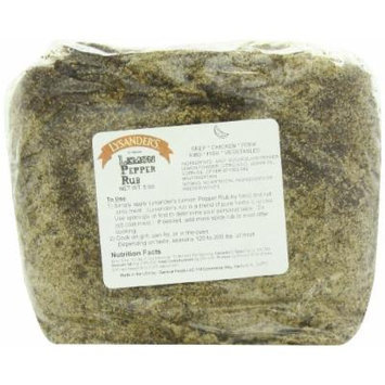 Lysander's Lemon Pepper Rub Seasoning, 5 Pound