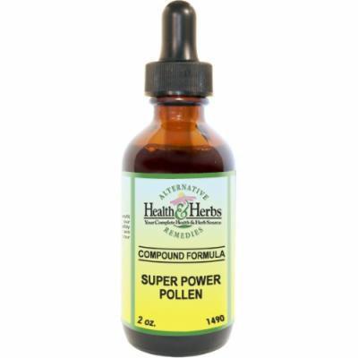Alternative Health & Herbs Remedies Super Power Pollen, 1-Ounce Bottle (Pack of 2)
