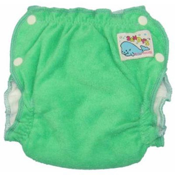 Mother-ease Sandy's Cloth Diaper (Large, Green)