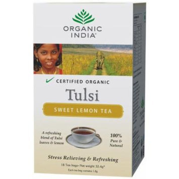 Organic India Tulsi Sweet Lemon - 18 Tea Bags
