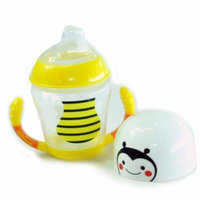 New Pureen Skittle Soft Spout Twin Handle Cup BPA Free for 6 months+ (Bee)