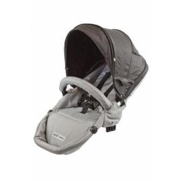 guzzie+Guss G+G 1+1 Gabriola Stroller 2nd Seat, Grey