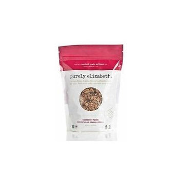 Purely Elizabeth Cranberry Pecan Ancient Grain Granola Cereal 12.5 Oz (Pack of 6)