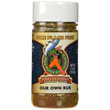 Pike Place Fish Market World Famous Our Own Fish Rub, 5.4 Ounce