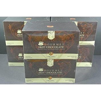 6 Organo Gold Gourmet HOT CHOCOLATE with 100% Organic Ganoderma (15 sachets per box)