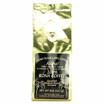 Black Label 100% Kona Medium Roast Ground