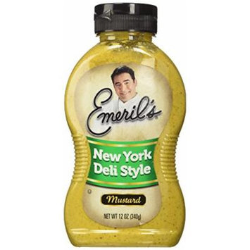 Emeril's New York Deli Style Mustard, 12-Ounce Unit (Pack of 6)