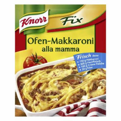 Knorr Fix oven makkaroni (Ofen-Makkaroni alla mamma) (Pack of 4)