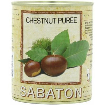 Sabaton France (Chestnuts) Marrons Puree, 30.5-Ounce Can