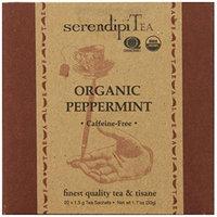 SerendipiTea Organic Tea Peppermint, 20 Count (Pack of 8)