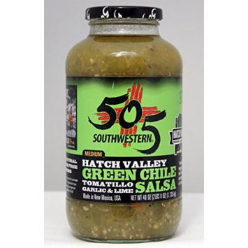 505 Southwestern Hatch Valley Green Chile Salsa 40 Oz