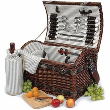 The Couture Collection (A) Deluxe Picnic Basket for 4