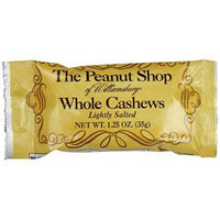 The Peanut Shop of Williamsburg Cashews, 1.25 Ounce (Pack of 24)
