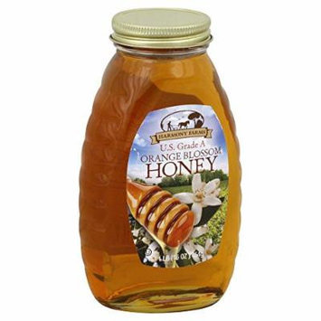 HARMONY FARMS HONEY ORANGE, 16 OZ