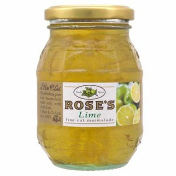 Rose's Lime Fine Cut Marmalade 6 x 454g