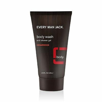Every Man Jack Body Wash, Cedarwood, 1.5 Ounce
