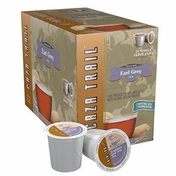 Caza Trail Tea, Earl Grey, 24 Single Serve Cups