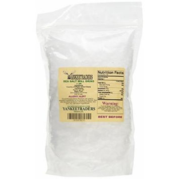 Yankee Traders Brand Sea Salt, Mill Grind - 2 Lbs