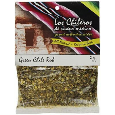 Los Chileros Green Chile Rub, 2 Ounce