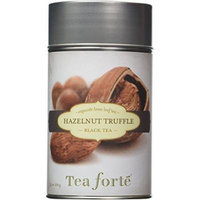 Tea Forte HAZELNUT TRUFFLE Loose Leaf Black Tea, 3.5 Ounce Tea Tin