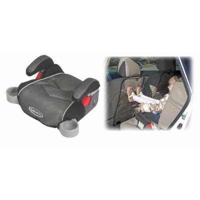 Graco Backless TurboBooster Booster Car Seat with Backseat Kick Protectors, Galaxy