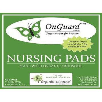 Organic Plush Wool Nursing Pads produced with Organic Wool - Small