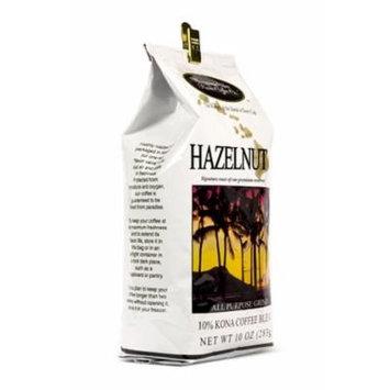 Hawaiian Isles Lunch Bag Gift Basket Kona Coffee Ground Hazelnut 4 Bags #7