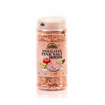 WBM Himalayan Chef Pink Coarse Salt glass Jar, 17.5 Ounce