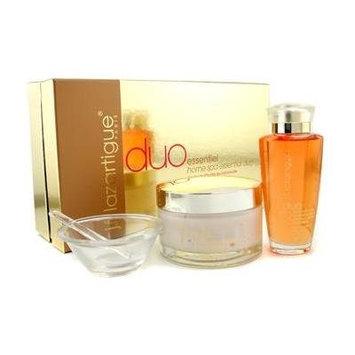 J. F. Lazartigue Home Spa Essential Duo With Bancoulier Oil: Essential Hair Cream 200ml + Serum 100ml