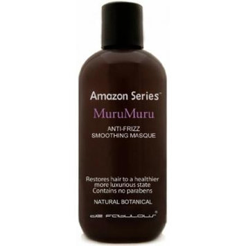 Amazon Series MuruMuru Anti-Frizz Smoothing Masque (enriched with murumuru butter & keratin for healthier hair) Sulfate Free (8.5 fl oz)
