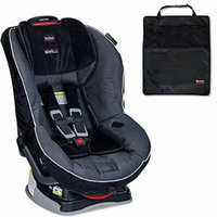 Britax Marathon G4.1 Convertible Car Seat w Mats, 2-Count, Black (Onyx)